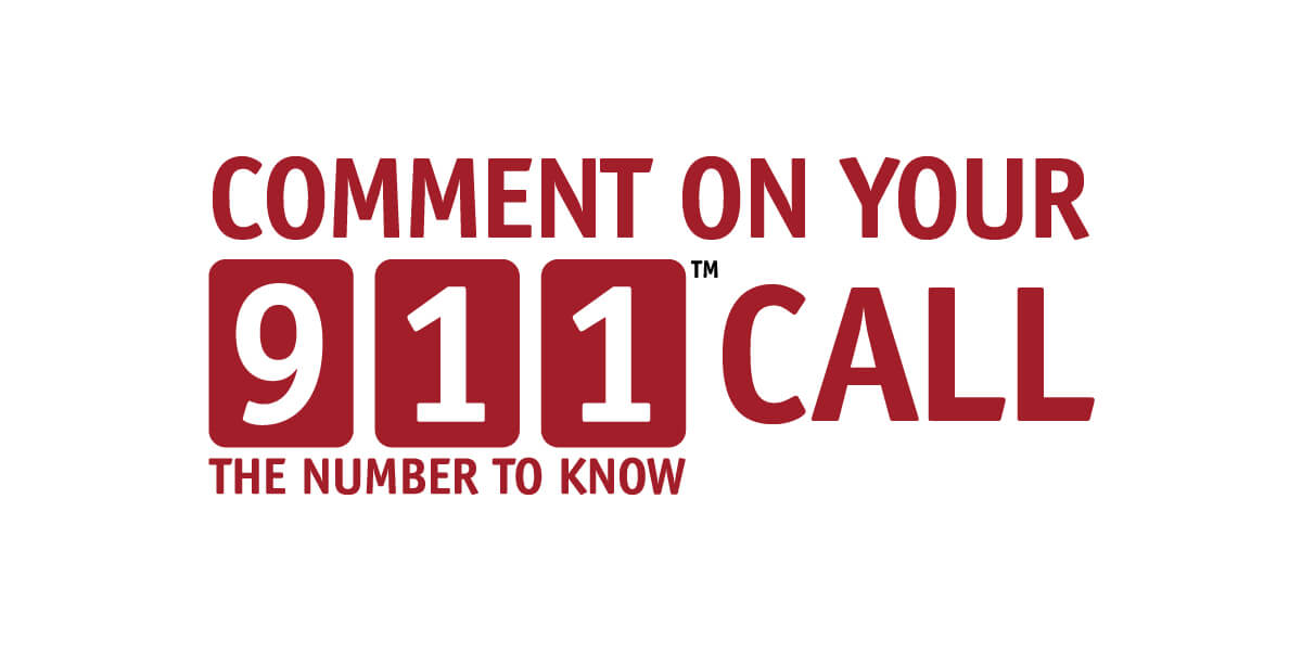 Comment on your 911 Call