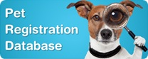 Search the Pet Registration Database