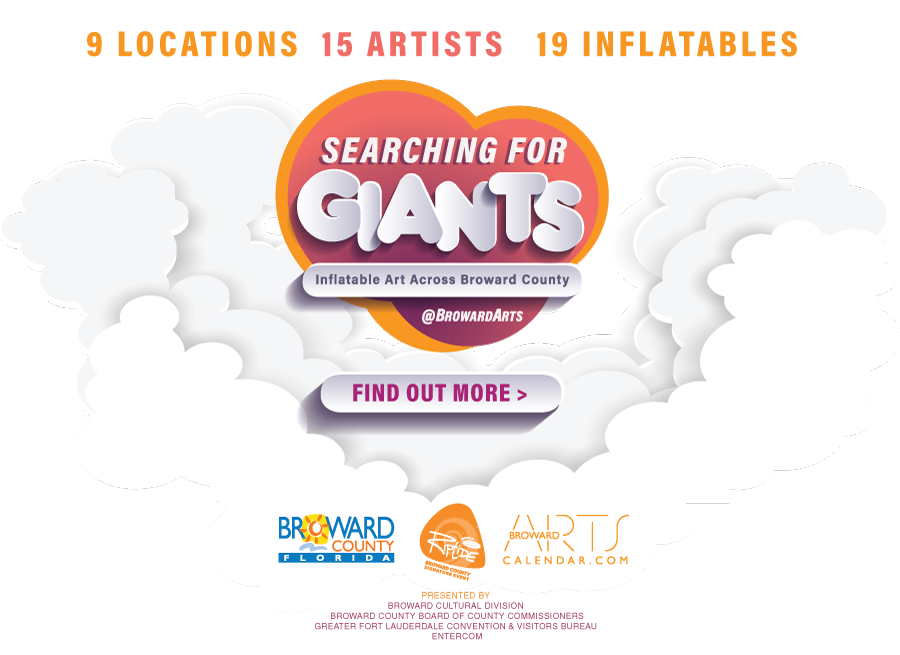 Searching For Giants - Inflatable Art Across Broward County.