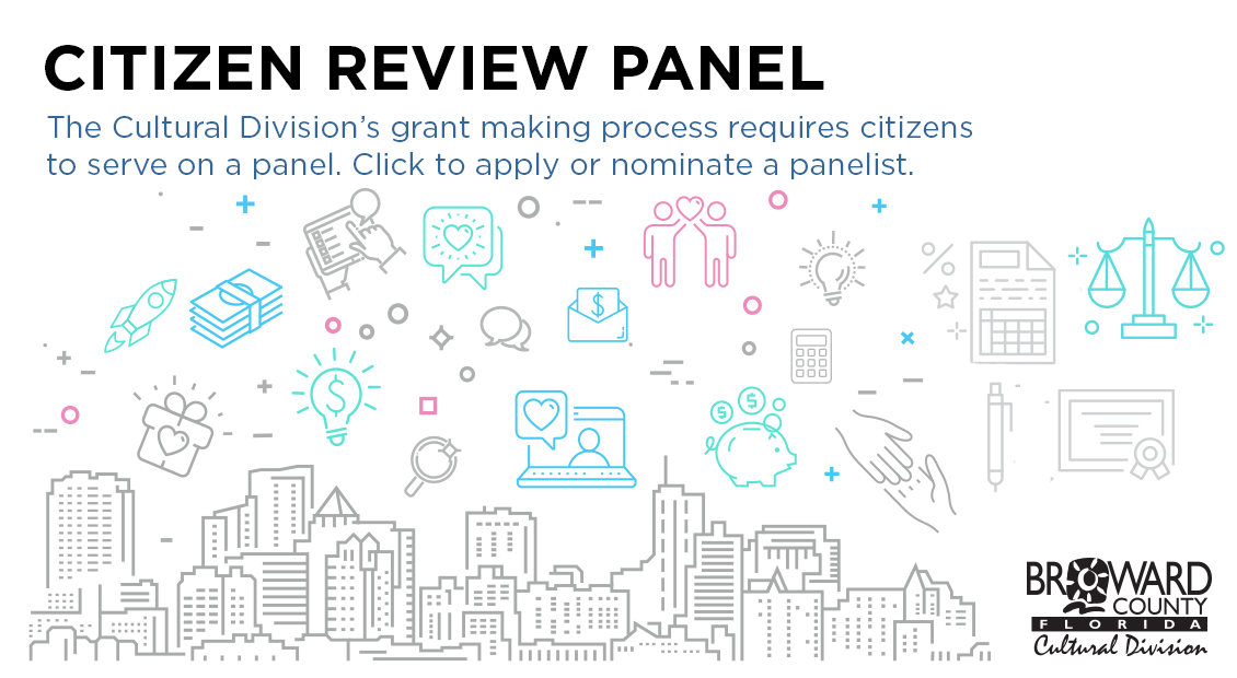 Citizen Review Panel - The Cultural Division's grant making process requires citizens to serve on a panel. Click to apply.