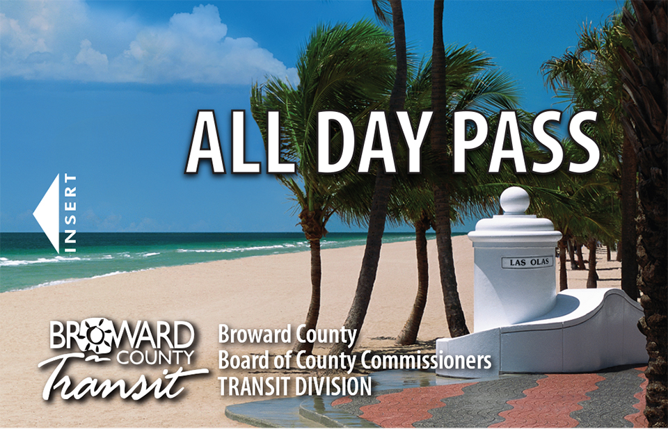 All Day Pass - Broward County Transit