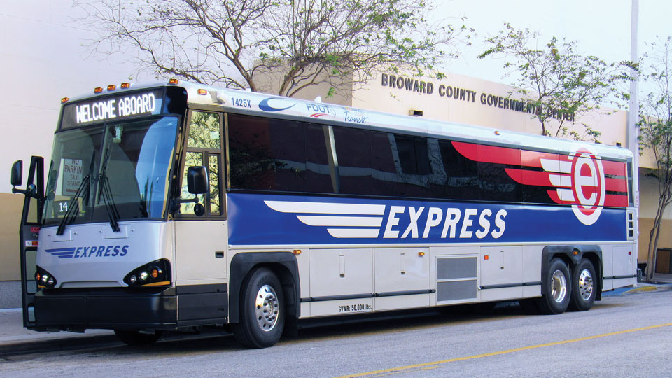 MCI Commuter Coach Bus