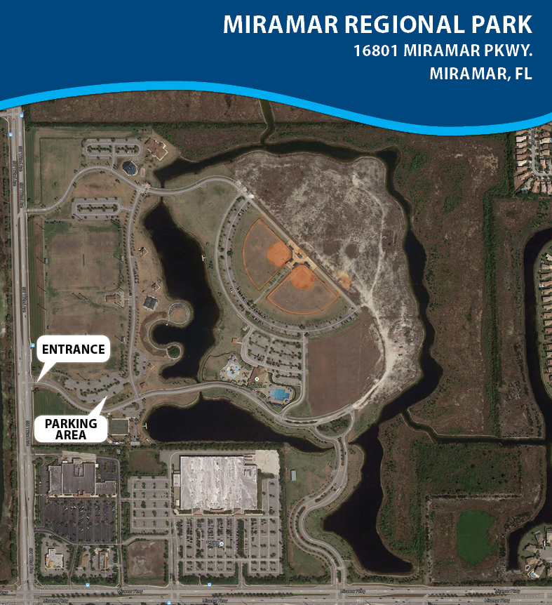 Miramar Regional Park Park Ride Map