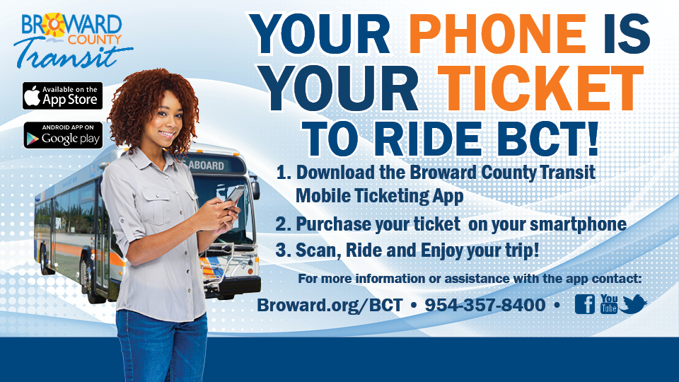 BCT Mobile Ticketing App