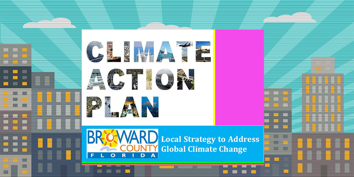 Broward County Climate Change Action Plan cover page