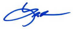 Lamar Fisher Signature