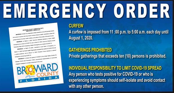 Emergency Orders