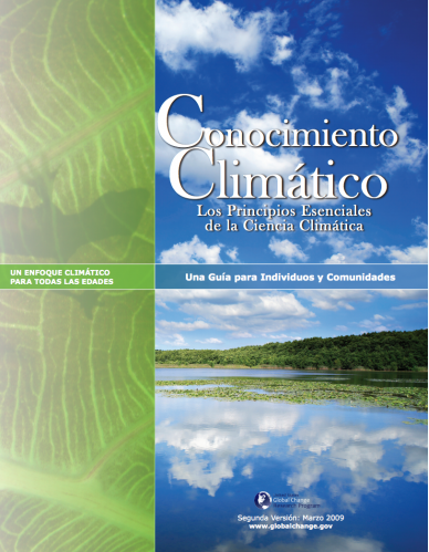 Climate Literacy Book Cover