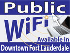 WIFI Available in Downtown Ft. Lauderdale