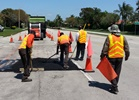 HBMD Asphalt Crew Delivers SunSational-Service