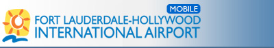 Fort Lauderdale-Hollywood International Airport Mobile Logo
