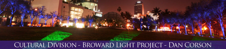 Broward Light Project - Dan Corson