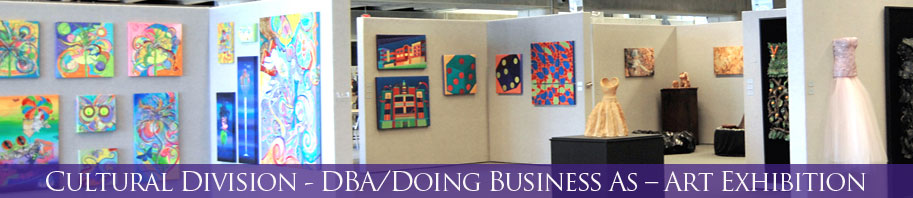 DBA/Doing Business As – Art Exhibition