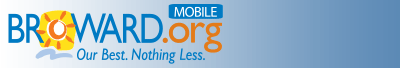 Broward County, Florida - Mobile Logo