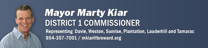 District 1 Commissioner, Martin David Kiar
