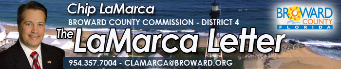 Chip LaMarca Broward County Commission - District 4 - Newsletter