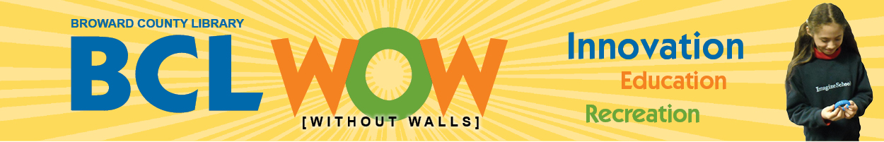 Broward County Library - BCL WOW - Without Walls - Live - Tutoring - Job Coaching