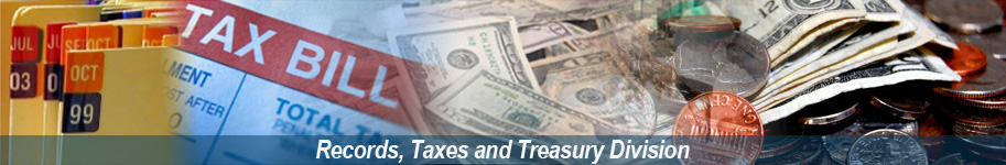 Records, Taxes and Treasury Division