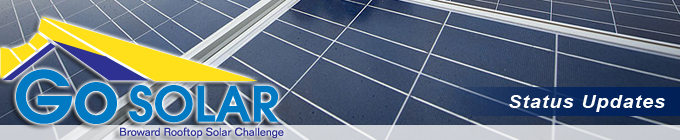 Broward Rooftop Solar Challenge - Weekly Update