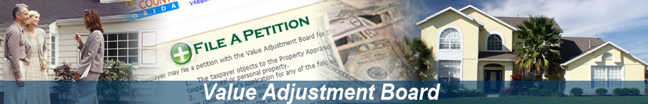 Broward County Value Adjustment Board Banner