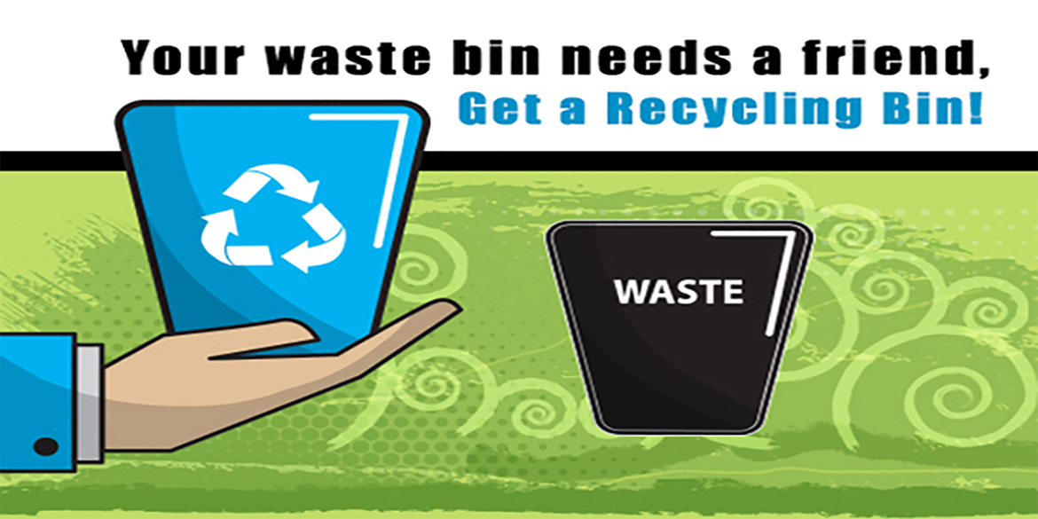 Need an Office Recycling Bin?
