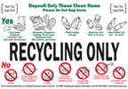 Recycling Bin (Sticker)
