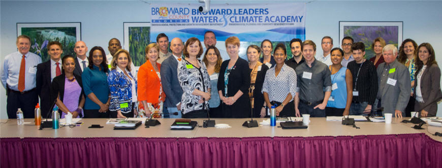 2017 Broward Leaders Water and Climate Academy